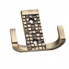 Мебельный крючок, Д70 Ш60 В25, античная бронза