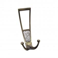 Мебельный крючок, античная бронза