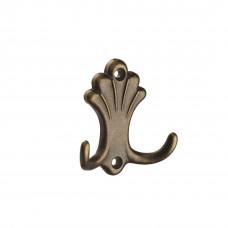 Мебельный крючок, оксидированная бронза