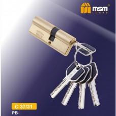 Цил. Мех. MSM Перфо. Ключ-Ключ C37/31 Цвет: PB - Золото