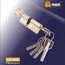 Цил. Мех. MSM Перфо. Ключ-вертушка CW30/40 Цвет: PB - Золото