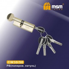 Цил. Мех. MSM Перфо. Ключ-вертушка CW30/50 Цвет: PB - Золото