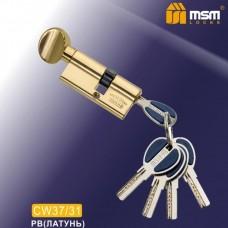 Цил. Мех. MSM Перфо. Ключ-вертушка CW37/31 Цвет: PB - Золото