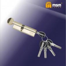 Цил. Мех. MSM Перфо. Ключ-вертушка CW40/60 Цвет: PB - Золото