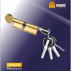 Цил. Мех. MSM Перфо. Ключ-вертушка CW45/55 Цвет: PB - Золото