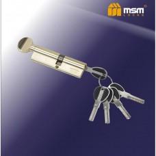 Цил. Мех. MSM Перфо. Ключ-вертушка CW50/40 Цвет: PB - Золото