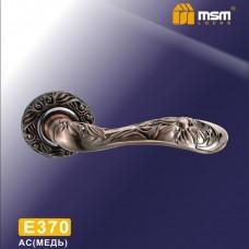 Ручка на круглой накладке E370 Цвет: AC - Медь