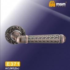Ручка на круглой накладке E371 Цвет: AC - Медь