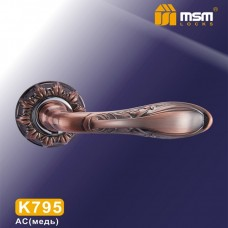 Ручка на круглой накладке K795 Цвет: AC - Медь