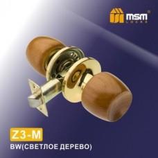 Ручка защелка (шариковая) MSM Z3-M Цвет: BW - Светлое дерево