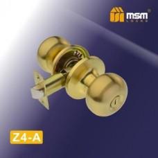 Ручка защёлка (шариковая) MSM Z4-A Цвет: SB - Матовое золото