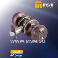 Ручка защёлка (шариковая) MSM Z4-M Цвет: AC - Медь