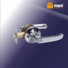 Ручка защелка (фалевая) MSM Z102-A Цвет: CP - Хром
