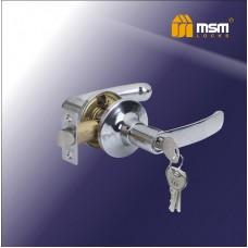 Ручка защелка (фалевая) MSM Z102-R Цвет: CP - Хром