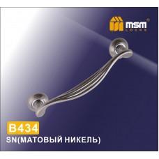 Ручка скоба MSM B434 Цвет: SN - Матовый никель
