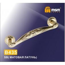 Ручка скоба MSM B435 Цвет: SB - Матовое золото