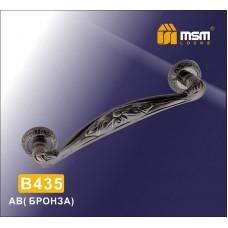 Ручка скоба MSM B435 Цвет: AB - Бронза
