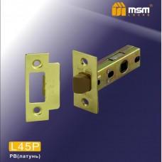 Внутренний механизм MSM L45P (защелка-пластик) Цвет: PB - Золото
