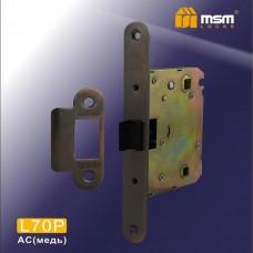 Внутренний механизм MSM L70P (защелка-пластик) Цвет: AC - Медь