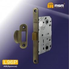 Внутренний механизм MSM L96P (защелка-пластик) Цвет: AB - Бронза