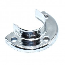 Трубодержатель половинчатый D=25 мм Цвет: CP - Хром