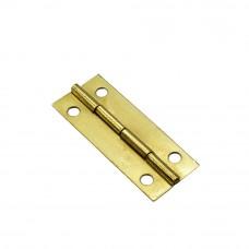 Петля карточная 42*15 мм. Цвет: PB - Золото
