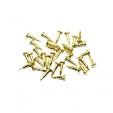 Гвозди 6 мм. 1кг. Цвет: PB - Золото