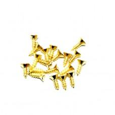 Саморез декоративный 3*4 мм. 1кг. Цвет: PB - Золото