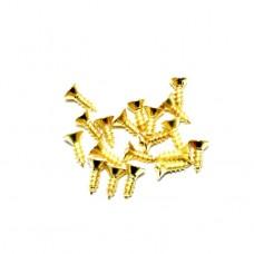 Саморез декоративный 5*4 мм. 1кг. Цвет: PB - Золото