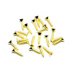 Саморез декоративный 8*4 мм. 1кг. Цвет: PB - Золото